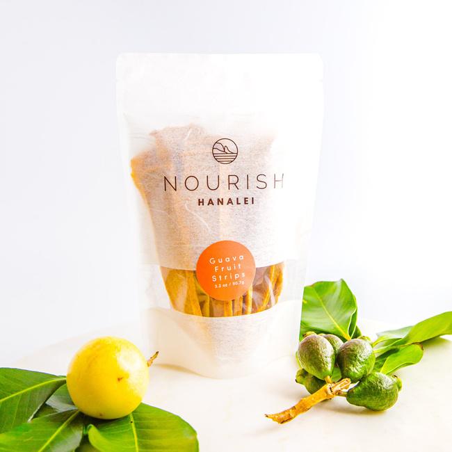 Nourish Hanalei | Guava Fruit Leathers
