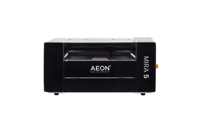 Aeon Mira 5 CO2 Desktop Laser Cutting Machine front view