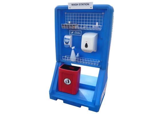 Coronavirus Hand Wash Station
