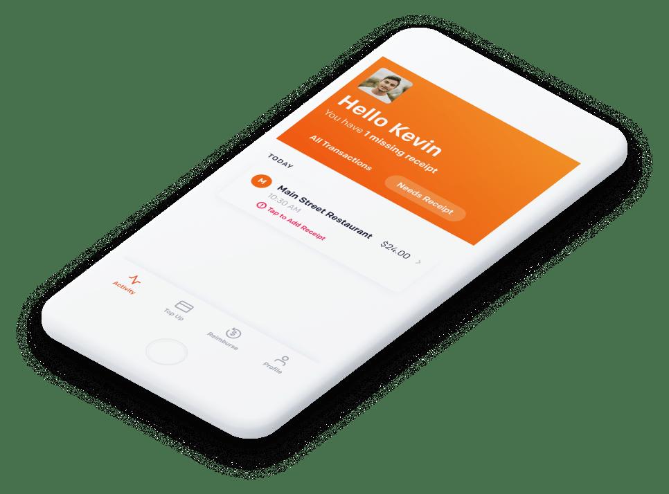 Spenmo App on Phone