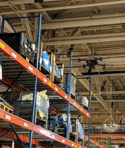 autonomous inventory drone