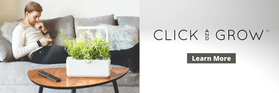 Click & Grow vs. AeroGarden - Learn More