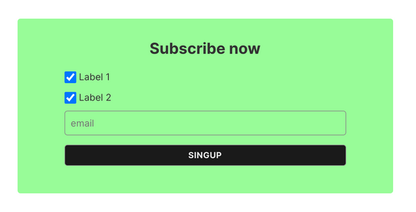 Ghost CMS subscription form member labels