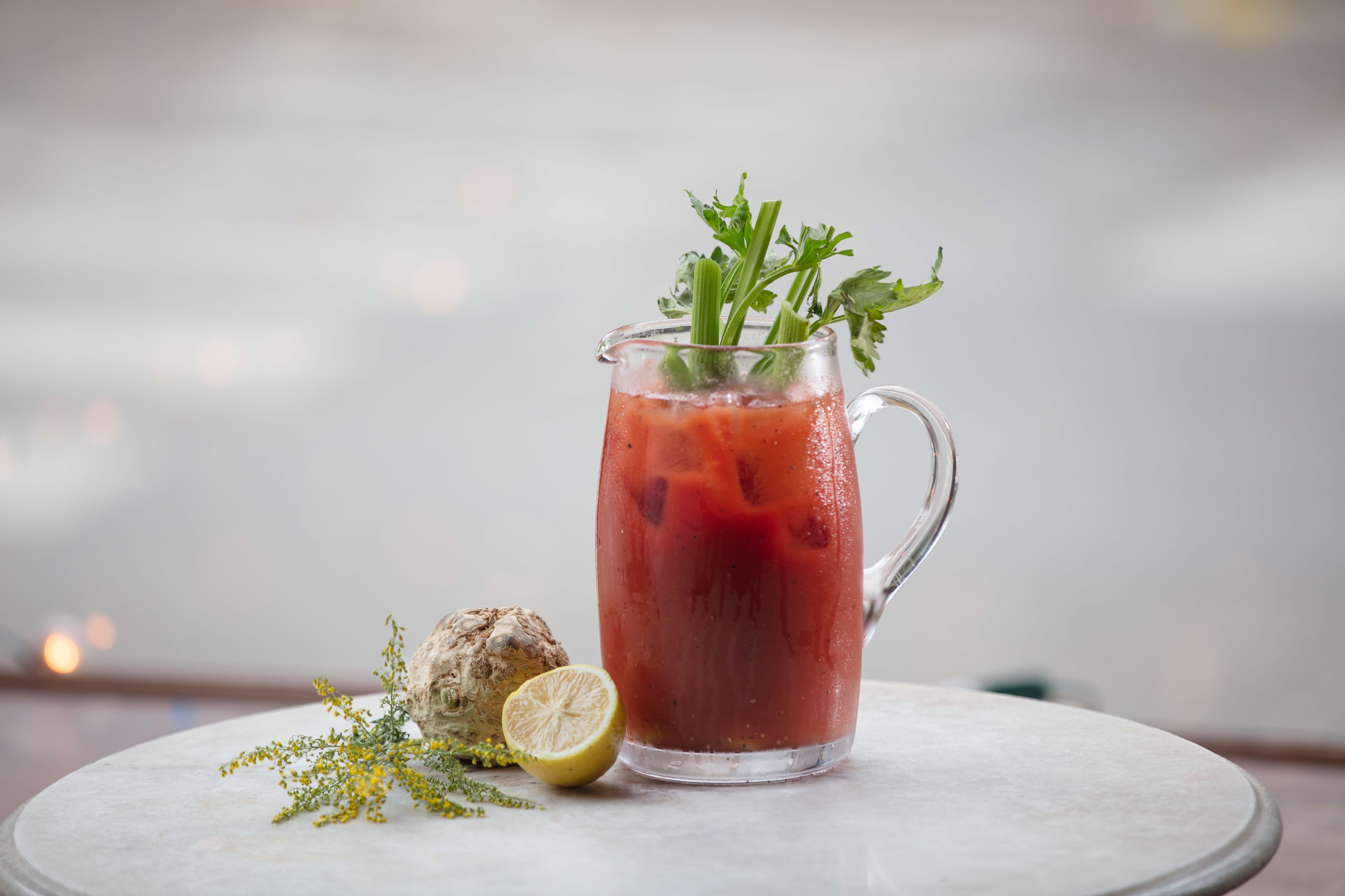 Celery Root Bloody