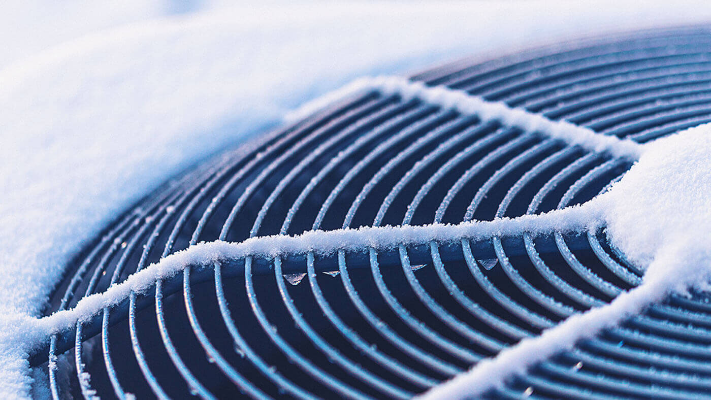 Frozen AC Unit