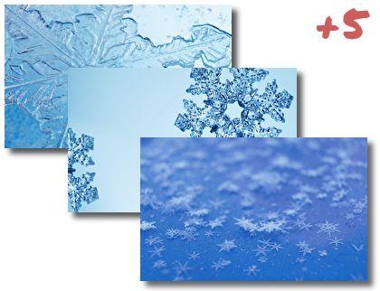 Snowflakes theme pack
