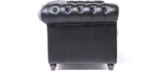 The Original Chesterfield Brighton 2 En 3zitsbank Zetel Salon Zwart 9200000035634009_3 77 cm