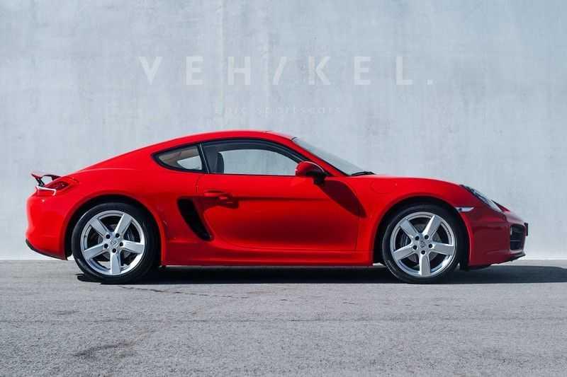 Porsche Cayman 2.7 // Handgeschakeld // Iconic Guards Red afbeelding 3