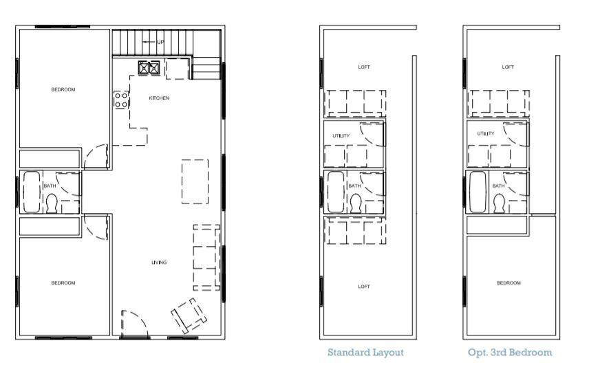 Barn Pro Weekender tuff shed floorplan
