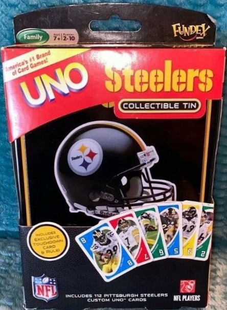 Pittsburgh Steelers Uno (2009)