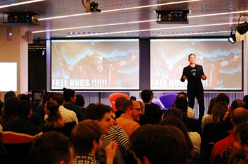 Àlex Rodríguez Bacardit at Startup Grind Barcelona