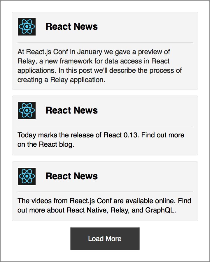 Sample News Feed