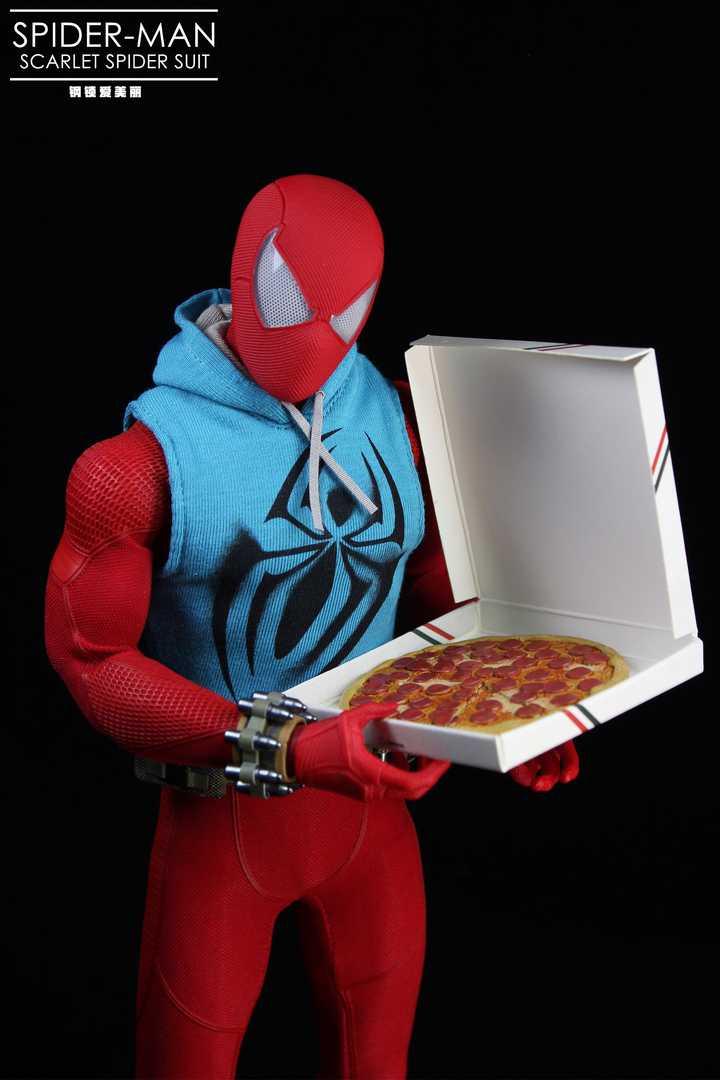 Spider-Man Video Game Masterpiece Scarlet Spider Suit