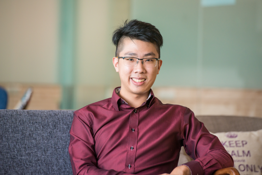 Quek Junjie, associate geospatial specialist at the Government Technology Agency of Singapore