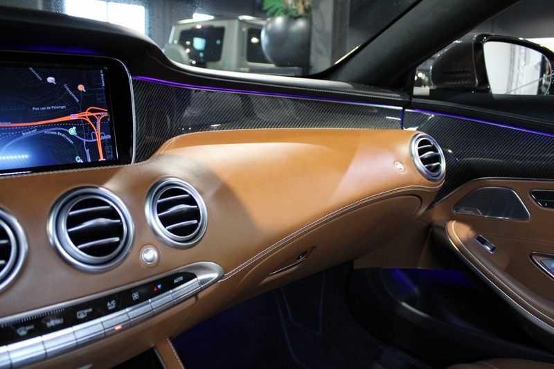 Mercedes-Benz S-Klasse Coupé 63 AMG 4Matic Zeer compleet/Carbon afbeelding 11