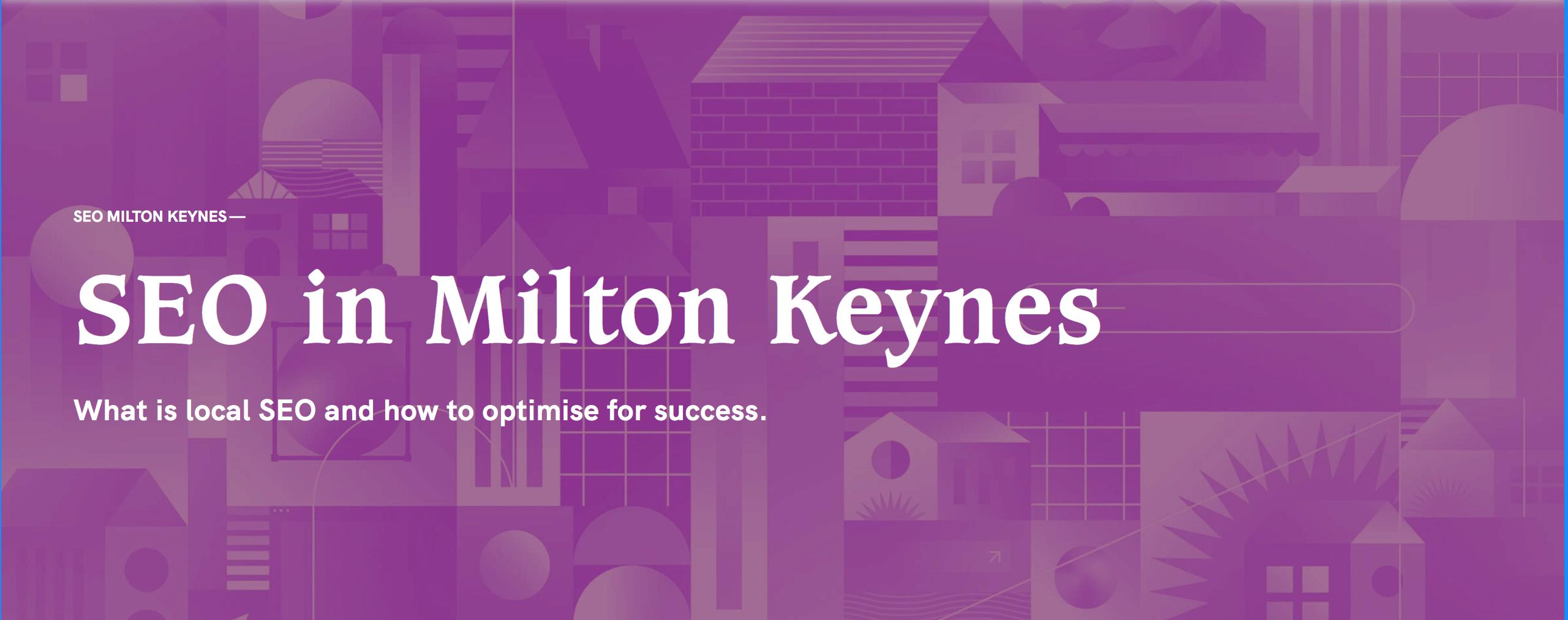 seo in milton keynes cover image