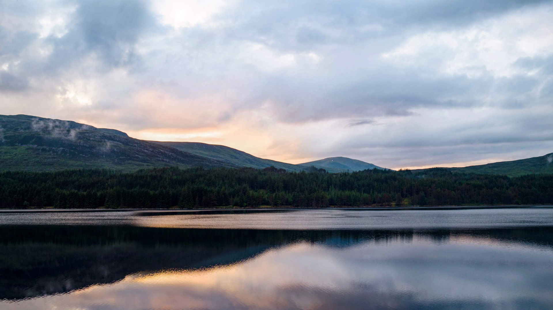Reflections on Loch Ossian