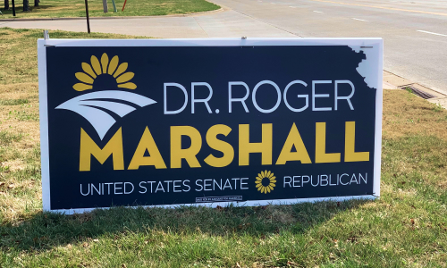 Kansans for Marshall Highway Sign