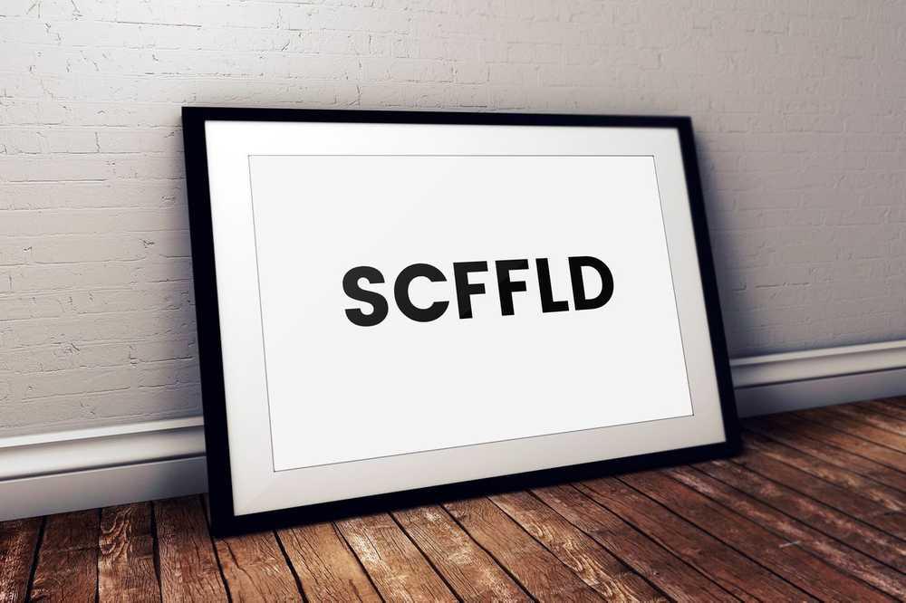 SCFFLD mockup one