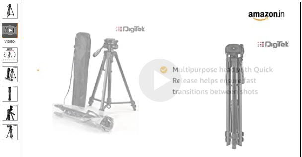 Tripod product video
