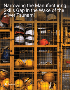 Narrowing the Manufacturing Skills Gap in the Wake of the Silver Tsunami Cover