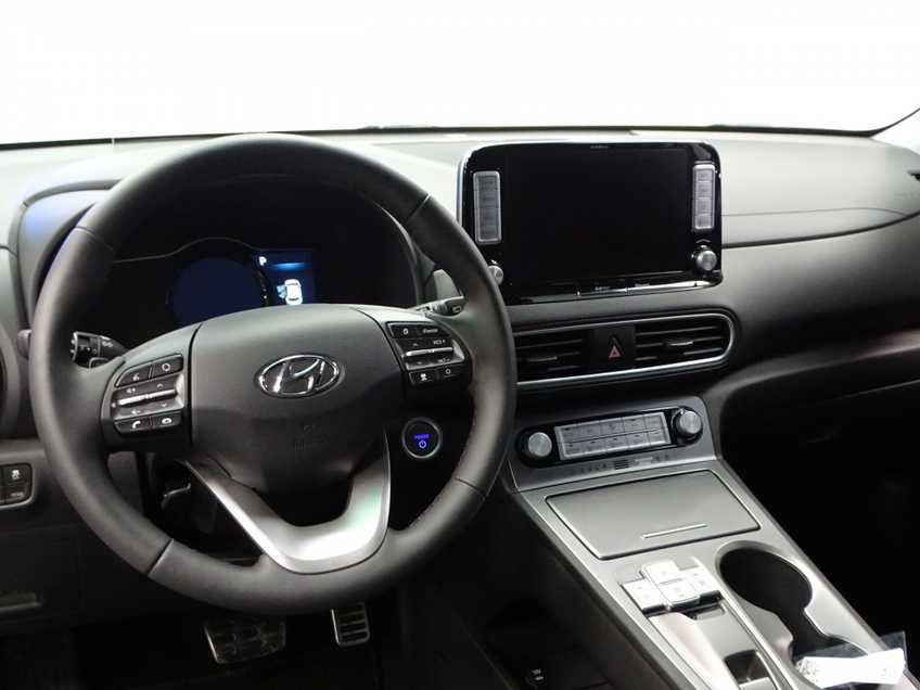 Hyundai Kona EV Premium 64 kWh Ex BTW 4% Bijtelling Leder Navi HUD Clima Camera afbeelding 12