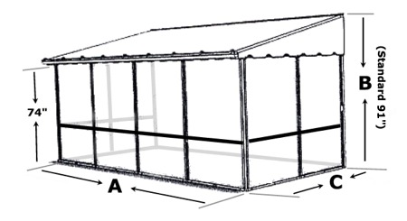 Trailer Deck Enclosure System Add A Room Screen Rooms On