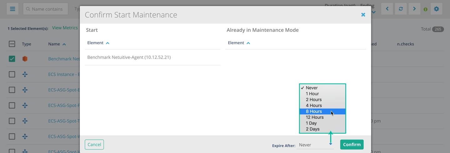 Start Stop Maintenance
