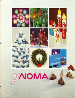 NOMA Lites Canada Christmas 1977 Catalog.pdf preview