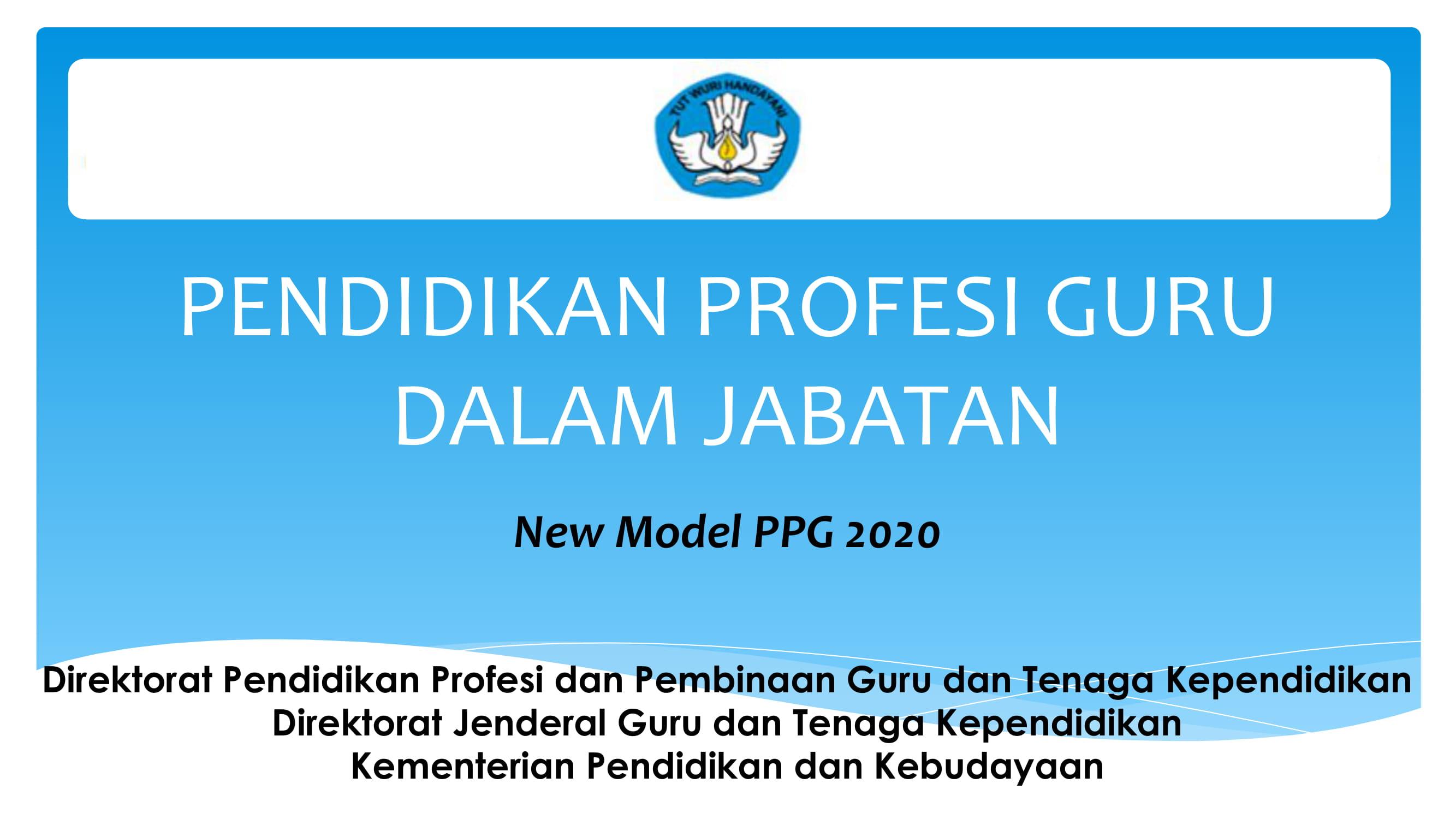 Infografis PPG Dalam Jabatan