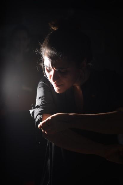 Maryam Taghavi performing at hub14, Toronto 2014