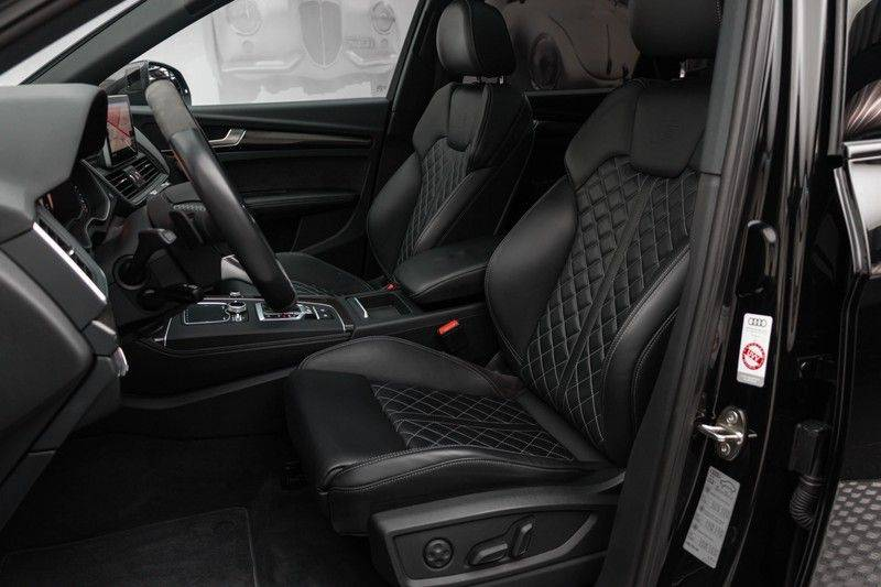 "Audi SQ5 3.0 TFSI 354pk Quattro Black Edition Panoramadak Luchtvering Valconaleder B&O Matrix-Dynamisch Keyless Navi-High ACC DriveSelect  21""Performance Camera Pdc afbeelding 2"