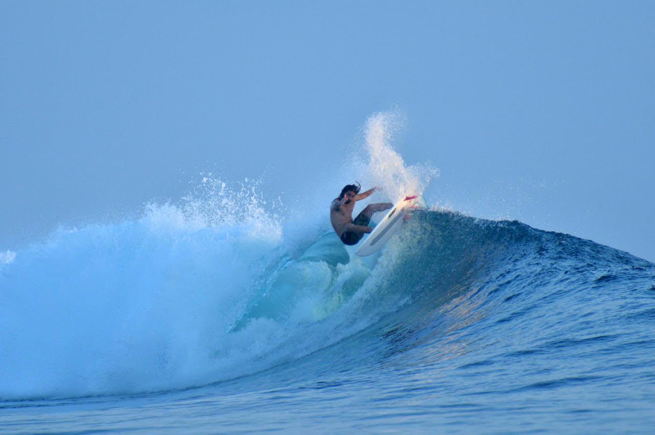 Orca Laut Surf Charter Mentawai Surfing wave David Burden Photography