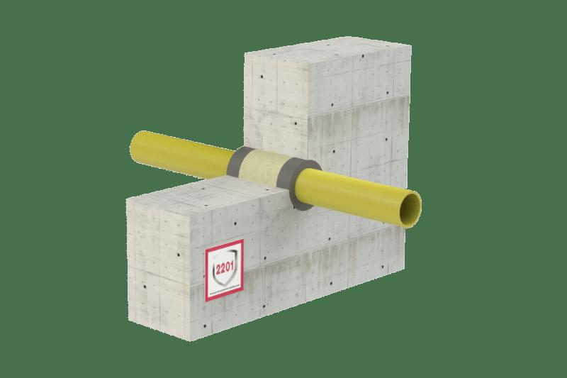 Protupožarno brtvljenje električnih kabela i gorivih cijevi - FS Acrylic (graphite)