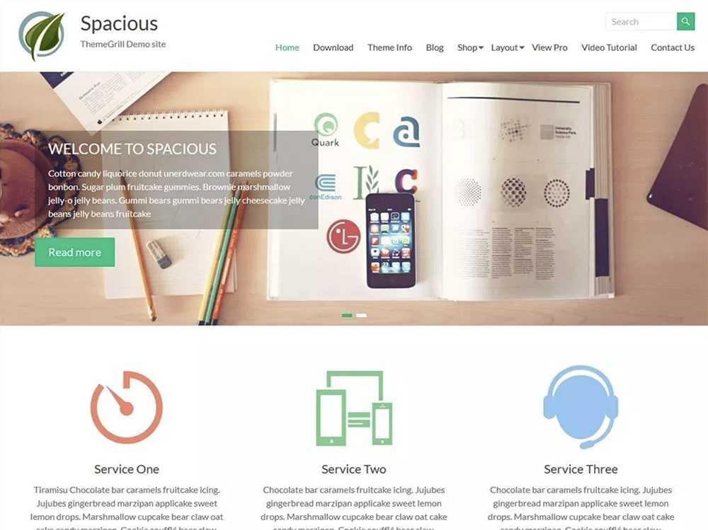 wordpress theme  0003 spacious