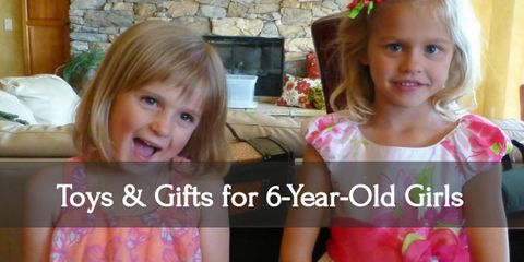 Delight in the smiles of your six year old little girl when she gets these gifts!