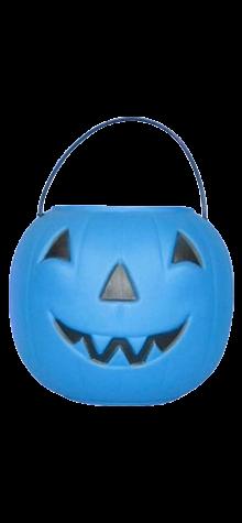 Blue Pumpkin Pail photo
