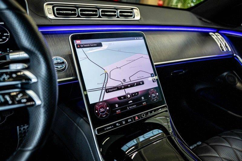 Mercedes-Benz S-Klasse 400d 4Matic Lang AMG | 3D Display | Augmented Head-Up Display | Burmester 3D | Pano | Memory afbeelding 17
