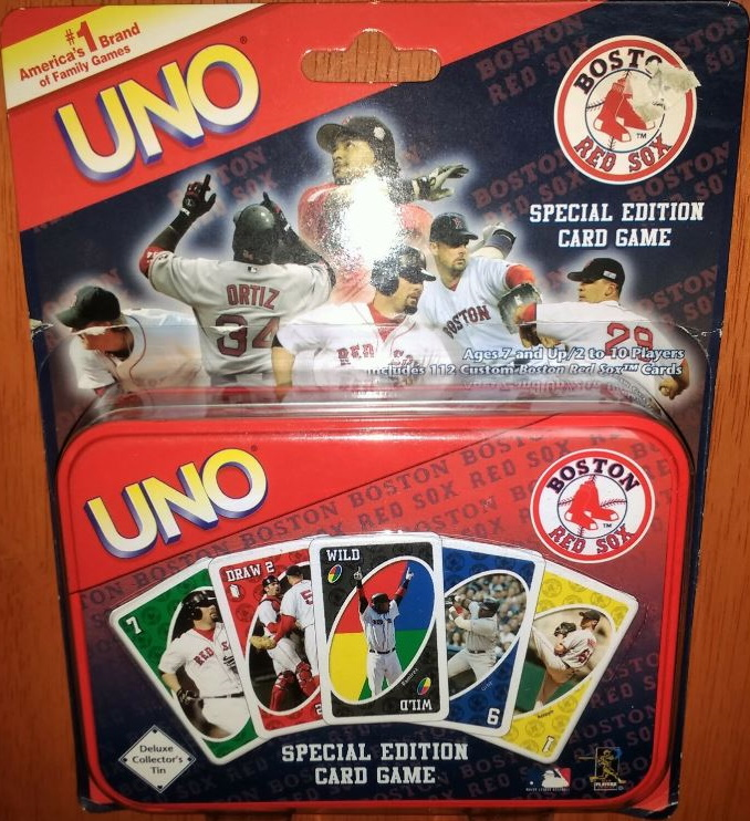 Boston Red Sox Uno (2006)