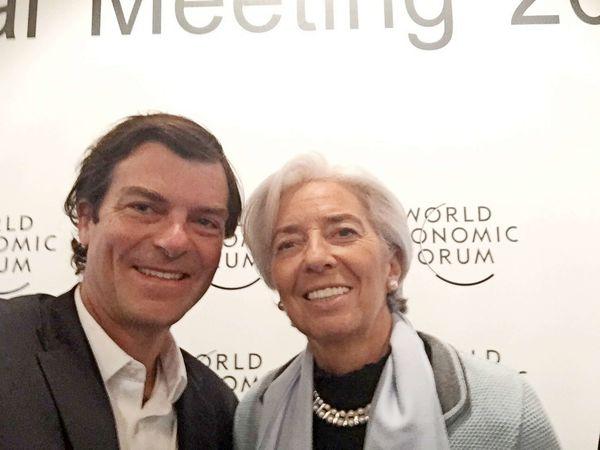 La Segunda: Nicolás Shea y su participación en Davos 2017