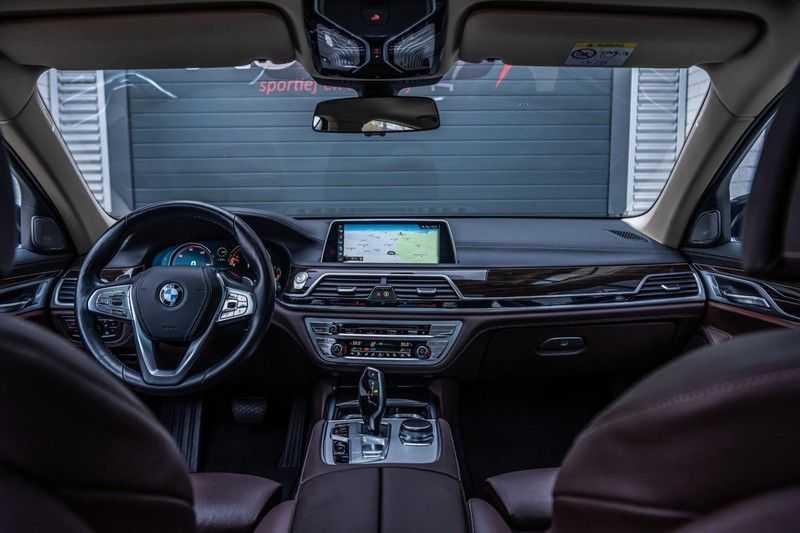 BMW 7 Serie 750i xDrive High Executive, 450 PK, Schuifdak, Gesture Control, Display/Key, Massage, Head/Up, Surround view, 56DKM!! afbeelding 7