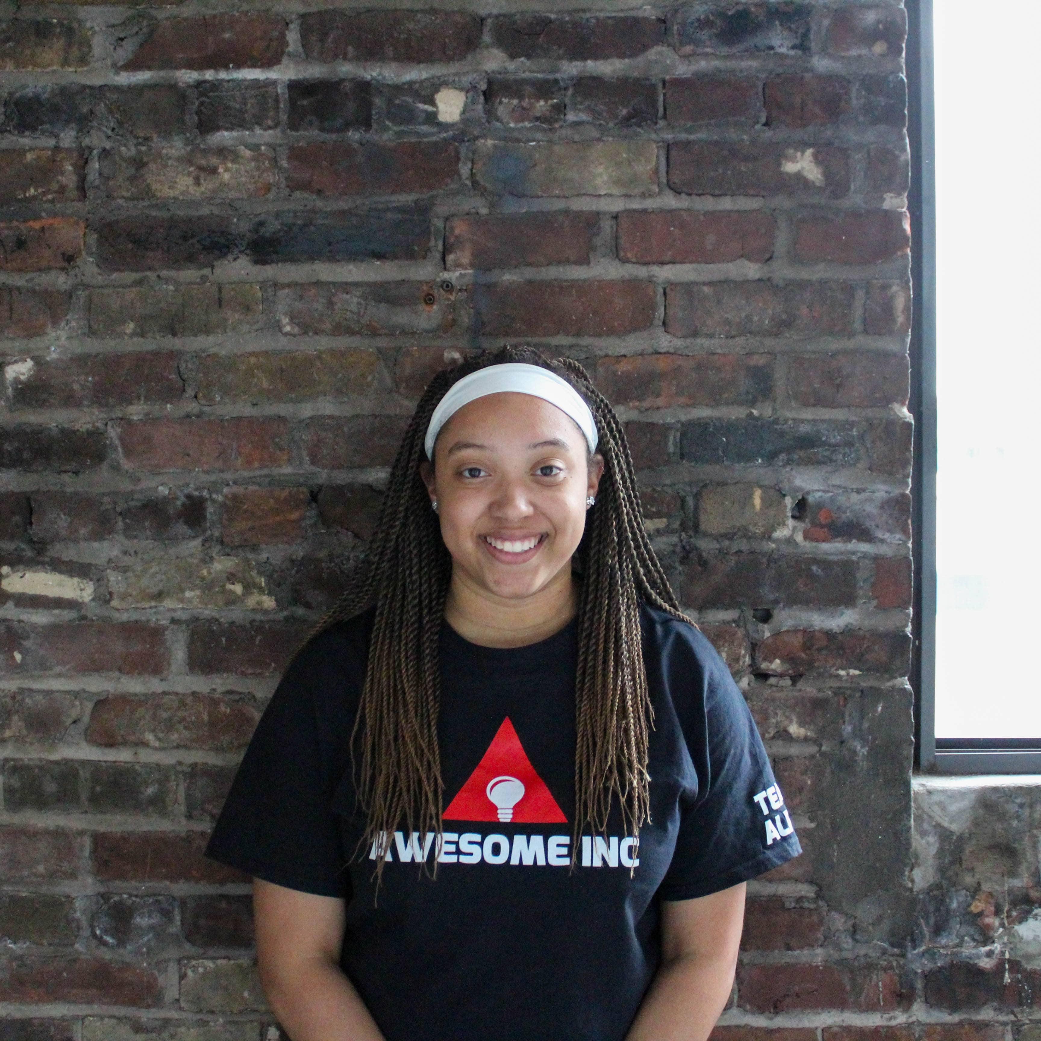 Awesome Inc team member, Skye Brown