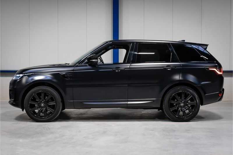 Land Rover Range Rover Sport 3.0 SDV6 HSE Dynamic BTW / ORG SatinBlack Matt / DEALER OND afbeelding 8