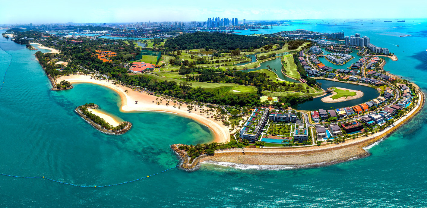 Image of Sentosa (Aerial View)