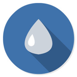 Logo of Deluge torrent client for Ubuntu