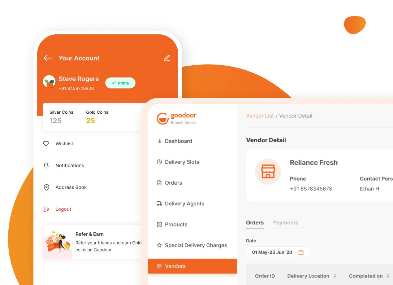 Grocery App design & development
