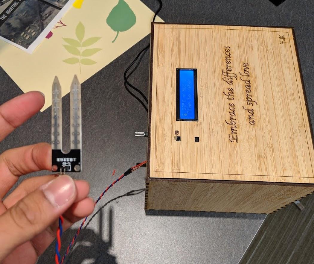 Case with Sensor