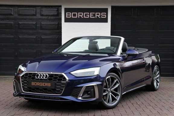Audi A5 Cabriolet 40 TFSI S-LINE+NEKVERWARMING+HEAD-UP+MATRIX