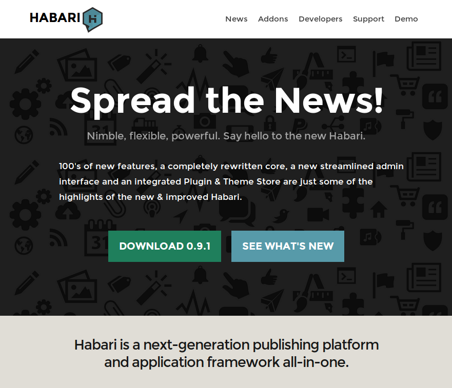 New Habari Site