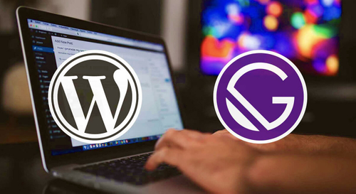 WordPress and Gatsby work together for fast website